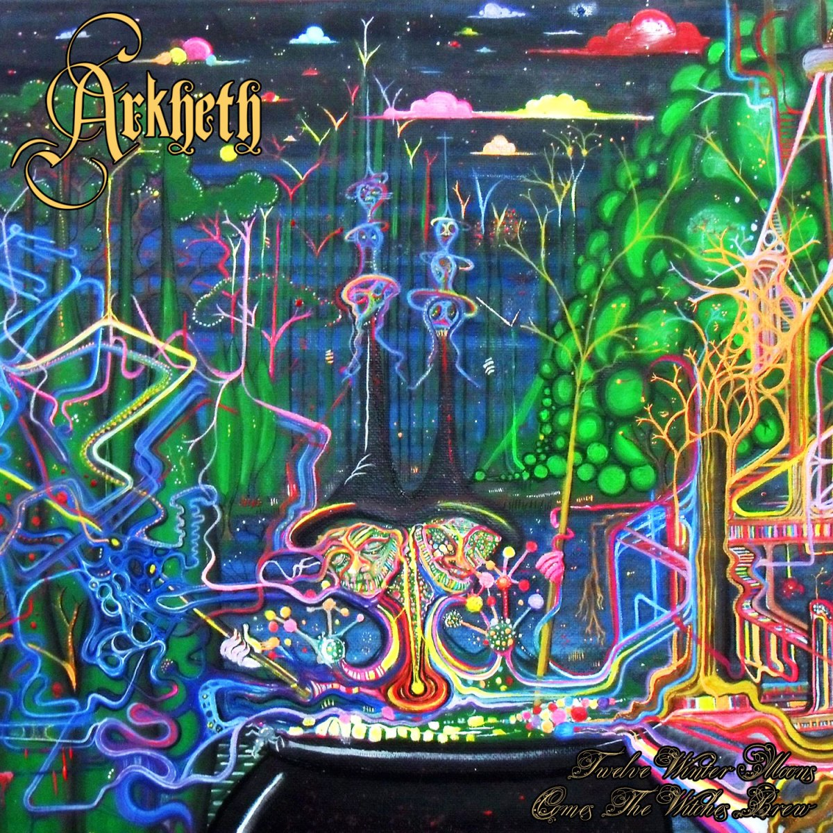 Album Review: 12 Winter Moons Comes the Witches Brew- Arkheth