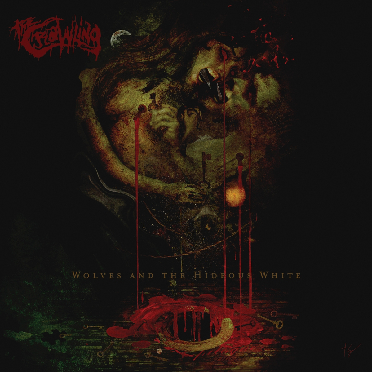 Album Review: Wolves and the Hideous White - The Crawling