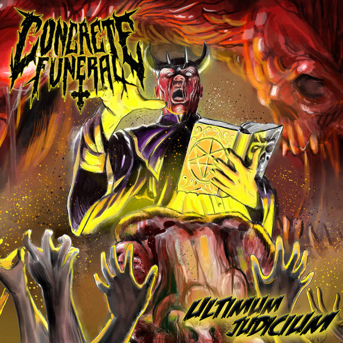 concrete funeral